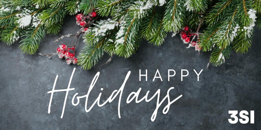 Holiday Wishes from 3SI